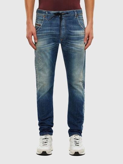 Diesel - KROOLEY JoggJeans® 009NK, Medium blue - Jeans - Image 1