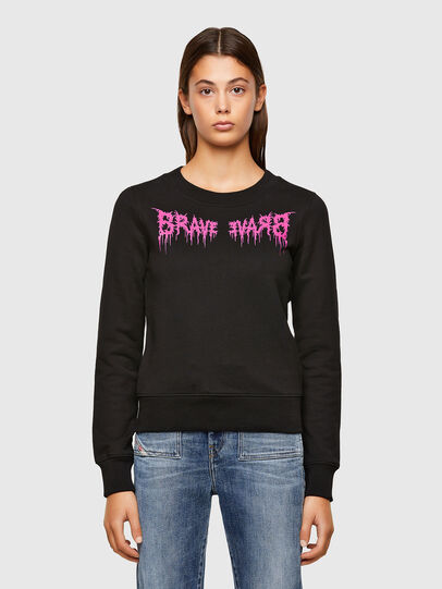 Diesel - F-AMOUS, Black - Sweaters - Image 1