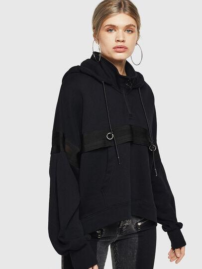 Diesel - F-AVAL, Black - Sweaters - Image 1