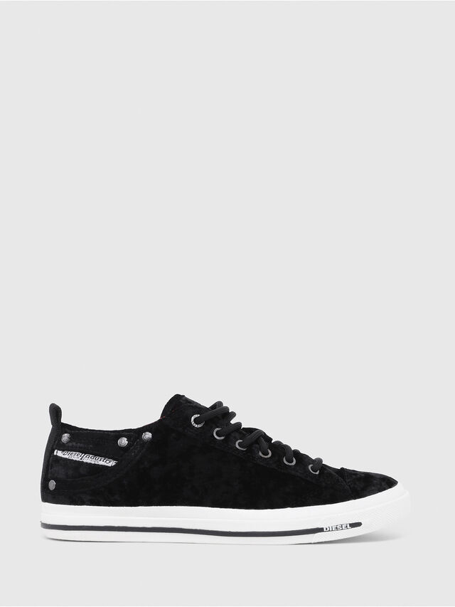 Diesel - EXPOSURE IV LOW  W, Black - Sneakers - Image 1