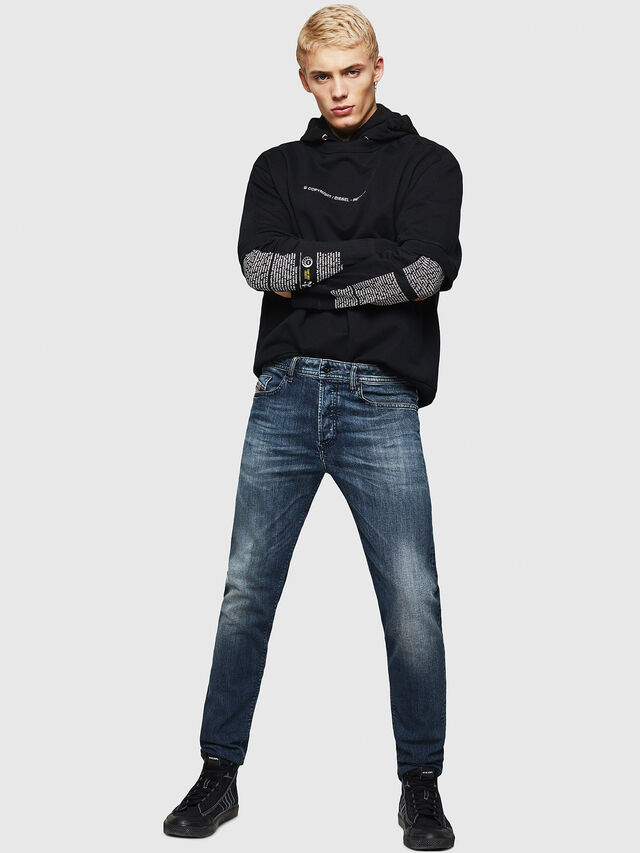Diesel - Buster 084AS, Dark Blue - Jeans - Image 6