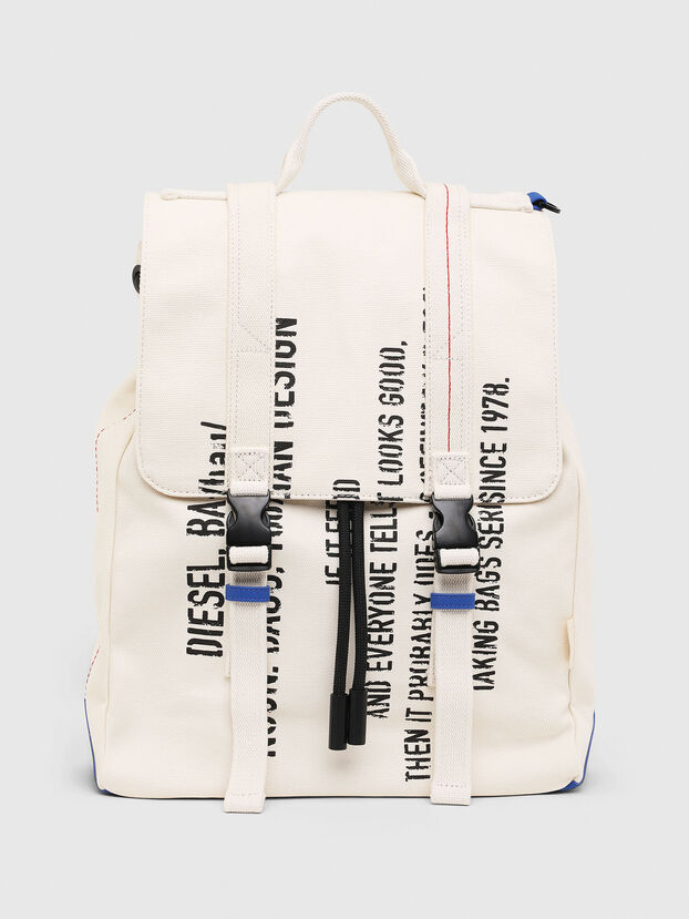 VOLPAGO BACK, White - Backpacks