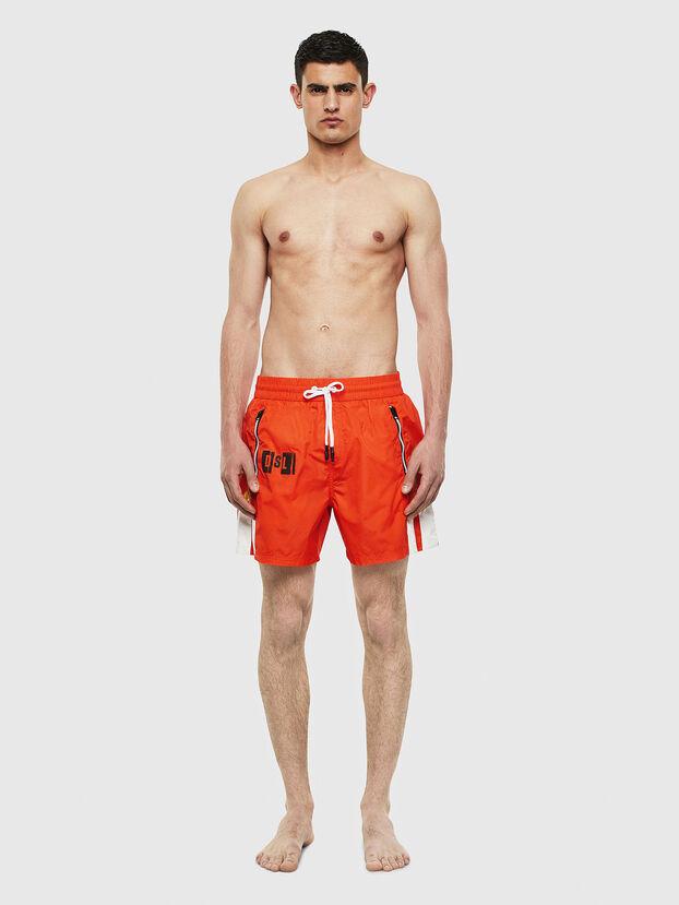 BMBX-WAVE-E42, Orange - Swim shorts