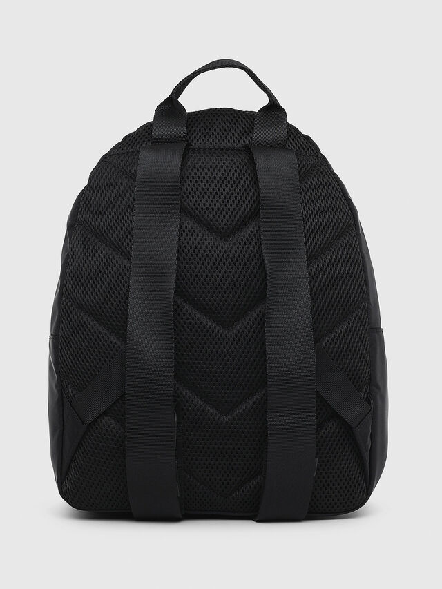 Diesel - F-SUSE BACK, Black/Yellow - Backpacks - Image 2
