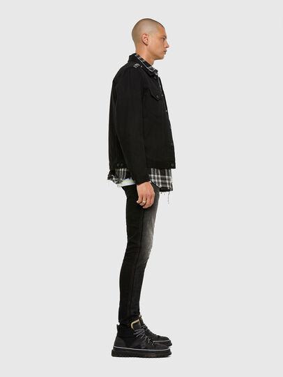 Diesel - D-Strukt 009HY, Black/Dark grey - Jeans - Image 8