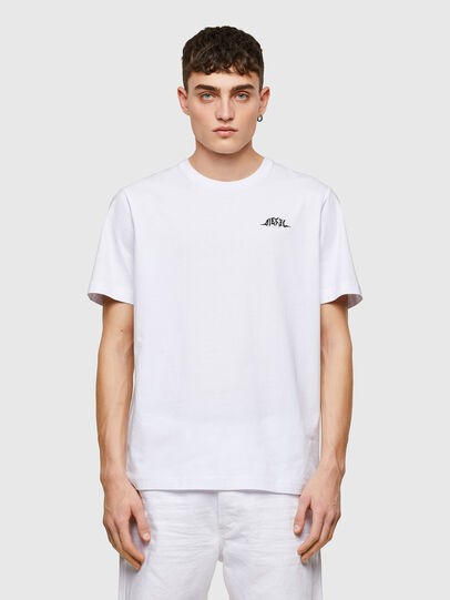 Diesel - T-JUST-E15, White - T-Shirts - Image 1