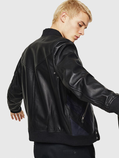 Diesel - L-OLEG,  - Leather jackets - Image 5