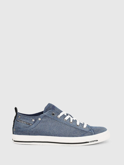 Diesel - EXPOSURE LOW I, Blue Jeans - Sneakers - Image 1