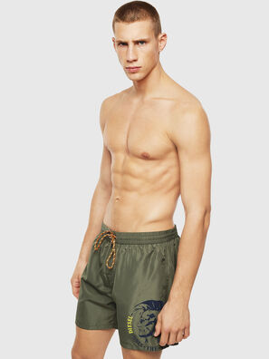 BMBX-WAVE 2.017, Military Green - Swim shorts