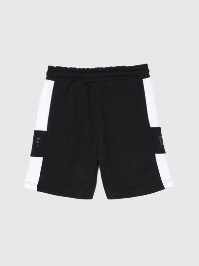Diesel - PSHAM, Black/White - Shorts - Image 2