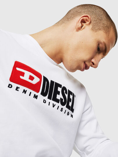 Diesel - S-GIR-DIVISION, White - Sweaters - Image 4