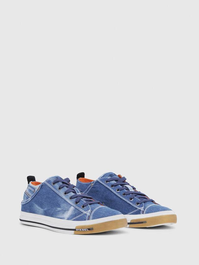 Diesel - EXPOSURE LOW I, Blue Jeans - Sneakers - Image 2
