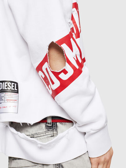 Diesel - S-BAY-HOLES, White/Red - Sweaters - Image 3