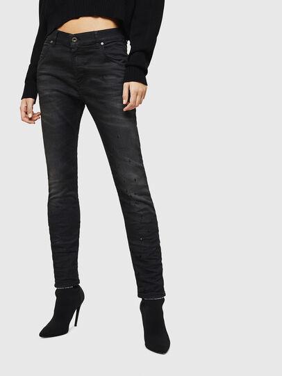 Diesel - Krailey JoggJeans 069GN, Black/Dark grey - Jeans - Image 1