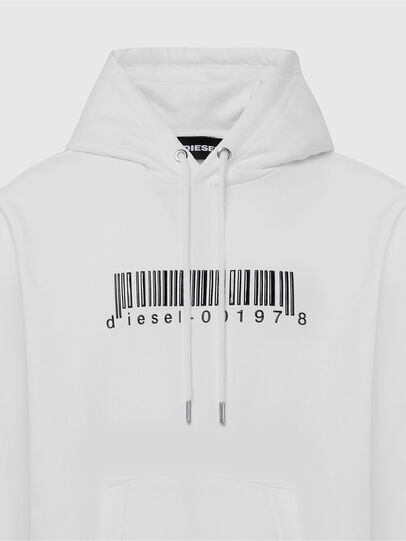 Diesel - S-GIRK-HOOD-X2, White - Sweaters - Image 3