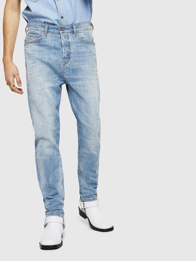 Diesel - D-Vider 081AL, Light Blue - Jeans - Image 1