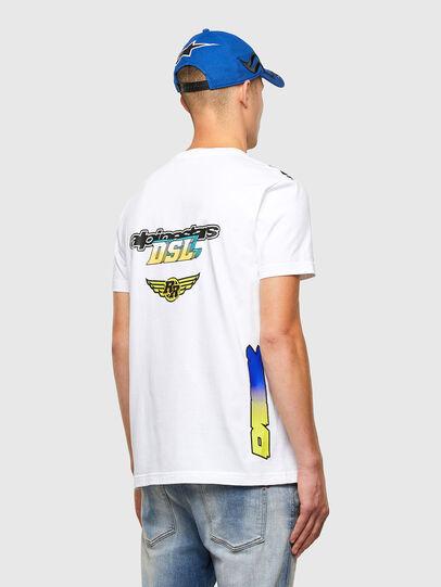 Diesel - ASTARS-T-DIEGOS-B, White - T-Shirts - Image 2