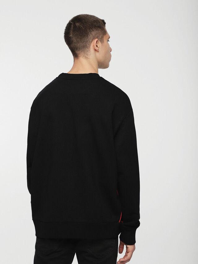 Diesel - DVL-SIFLA-CAPSULE, Black - Sweaters - Image 2