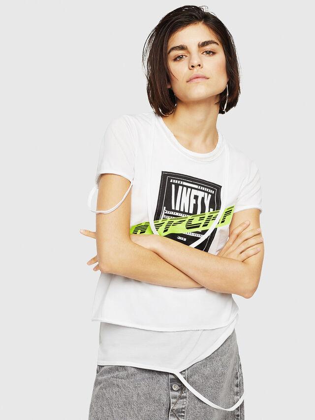 Diesel - T-EMIKO-B, White - T-Shirts - Image 4