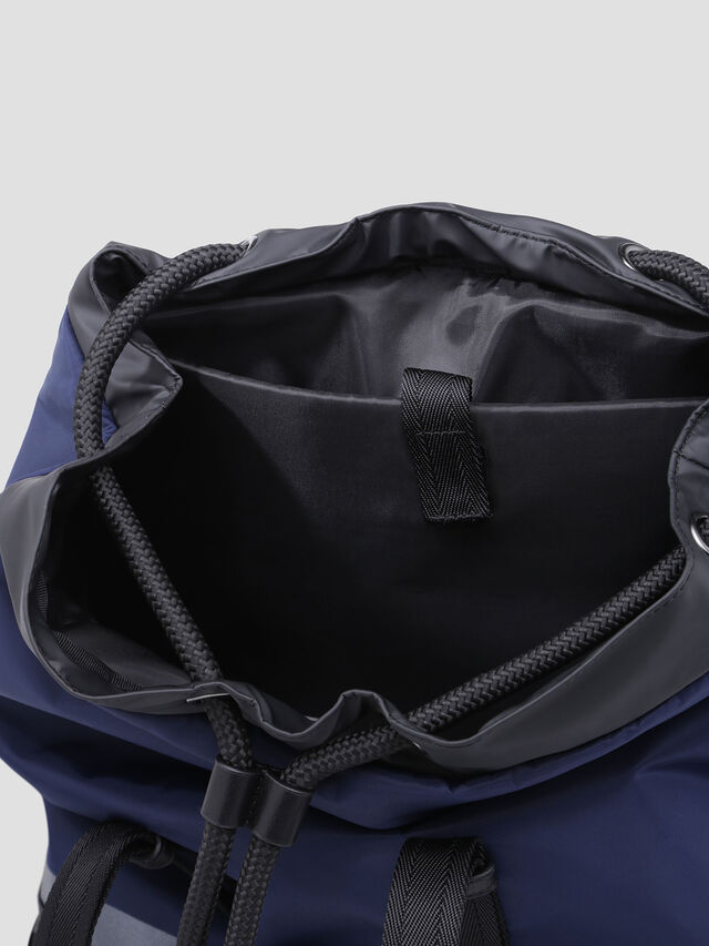 Diesel - VOLPAGO BACK, Blue - Backpacks - Image 3