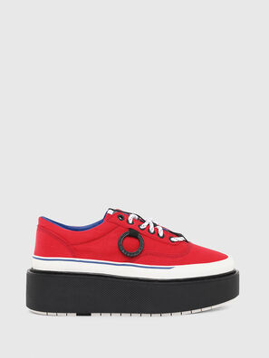 H-SCIROCCO LOW, Fire Red - Sneakers
