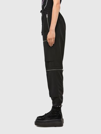 Diesel - P-LEX-A, Black - Pants - Image 3