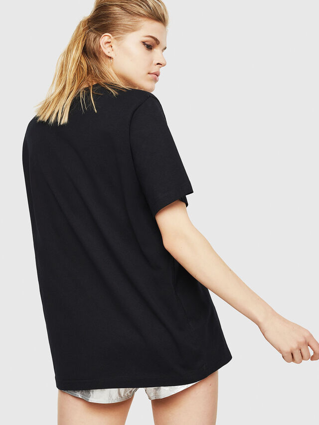Diesel - T-JUST-Y17-FL, Black - T-Shirts - Image 2