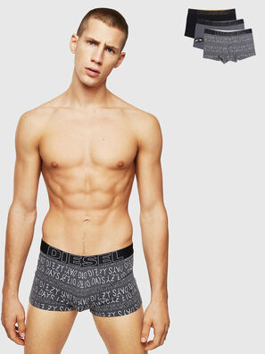 UMBX-DAMIENTHREEPACK, Gray/Black - Trunks