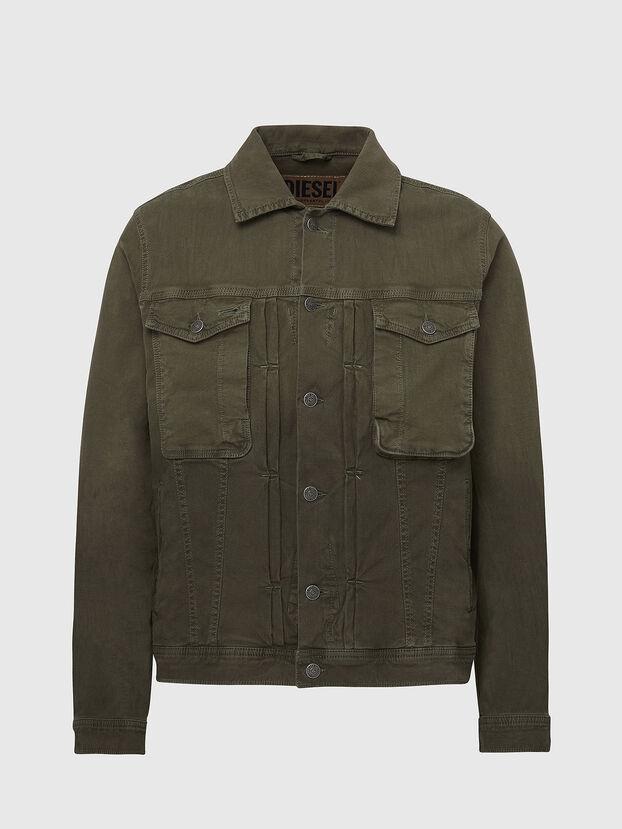 D-YOGI-SP JOGGJEANS, Olive Green - Denim Jackets