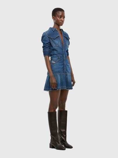 Diesel - DE-JOANA, Medium blue - Dresses - Image 6