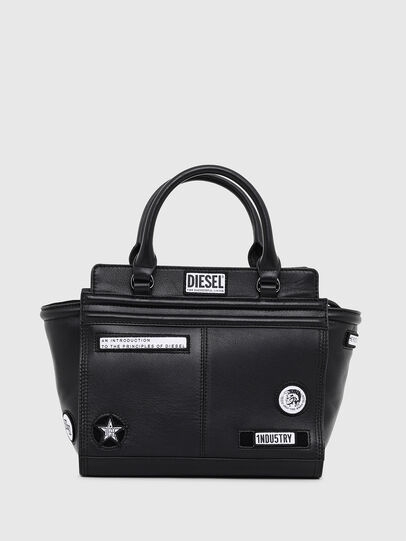 Diesel - LE-ZIPPER SATCHEL S,  - Shopping and Shoulder Bags - Image 1
