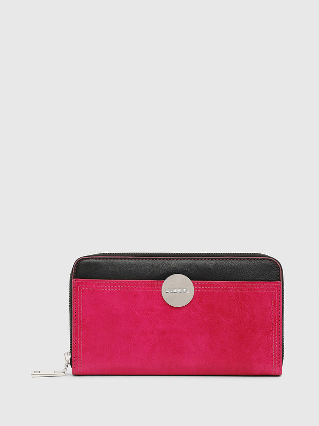 GRANATO LC, Pink - Zip-Round Wallets