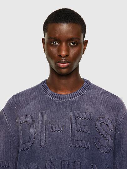 Diesel - K-NORTHERN, Blue - Knitwear - Image 4