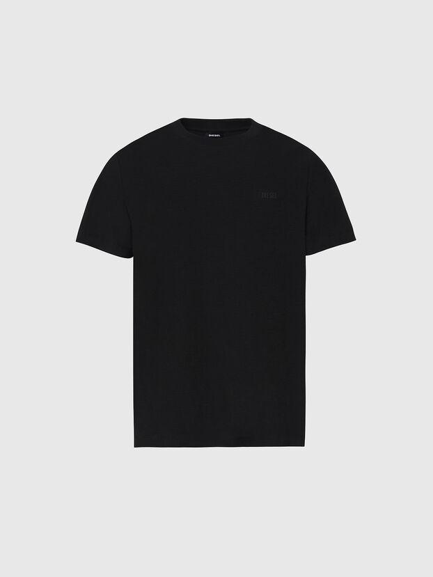 T-TARRIS-NEW2, Black - T-Shirts