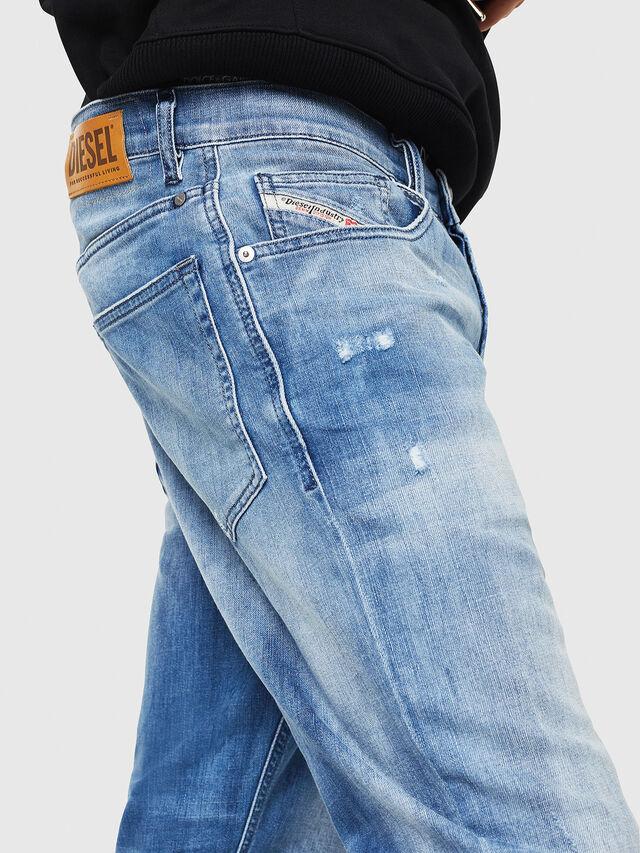 Diesel - D-Eetar 081AS, Medium blue - Jeans - Image 4