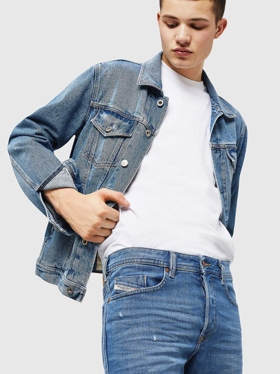 Diesel - Buster 083AX, Light Blue - Jeans - Image 4