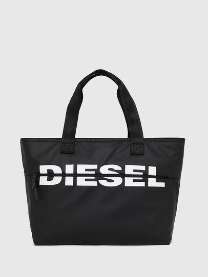 Diesel - F-BOLD SHOPPER II, Black - Shopping and Shoulder Bags - Image 1