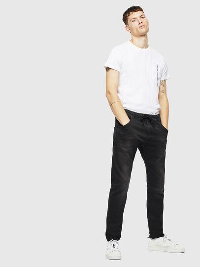 Diesel - Krooley JoggJeans 0670M, Black/Dark grey - Jeans - Image 6