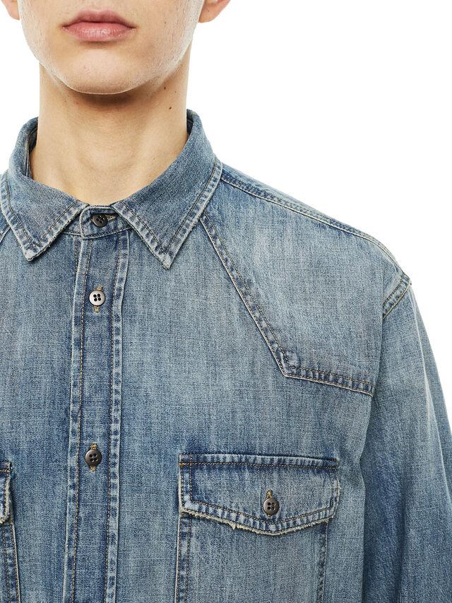 Diesel - SUVER-D, Blue Jeans - Shirts - Image 3