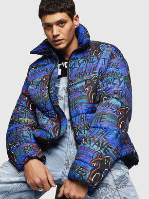 W-PIATIG-MONSTER, Blue/Black - Winter Jackets