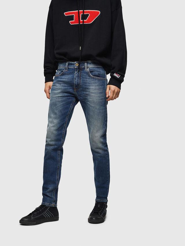 Diesel - Thommer 089AR, Dark Blue - Jeans - Image 1