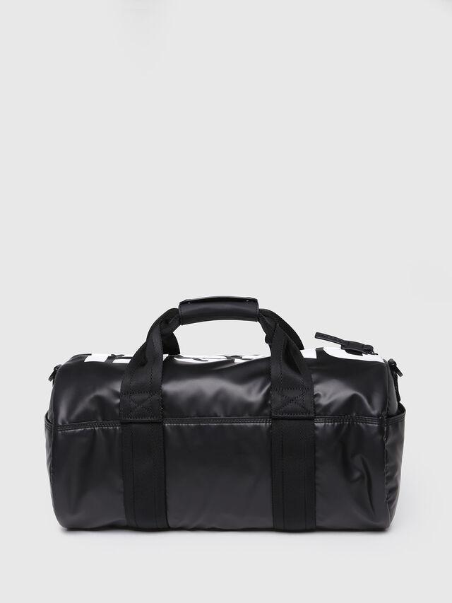 Diesel - F-BOLD DUFFLE FL, Bright Black - Travel Bags - Image 2