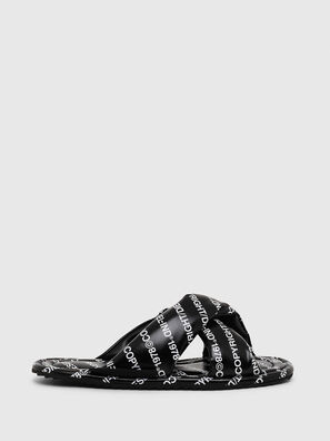 SA-MERY X, Black/White - Slippers