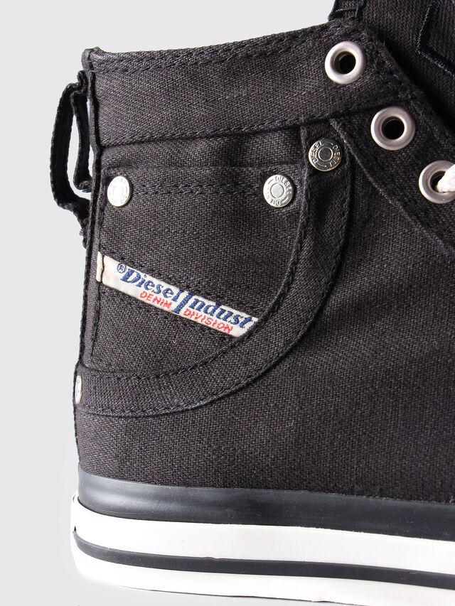 Diesel EXPOSURE W, Black/White - Sneakers - Image 5