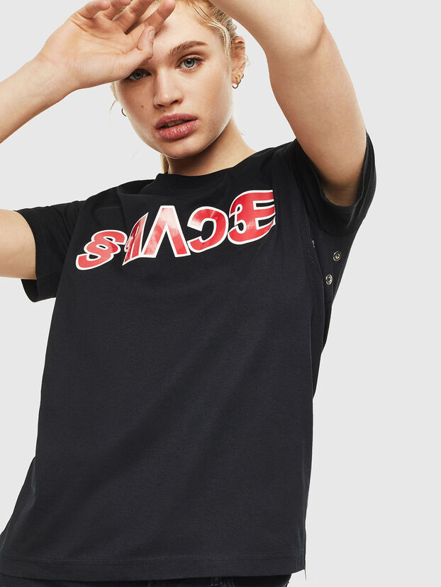 T-SILY-WO, Black - T-Shirts