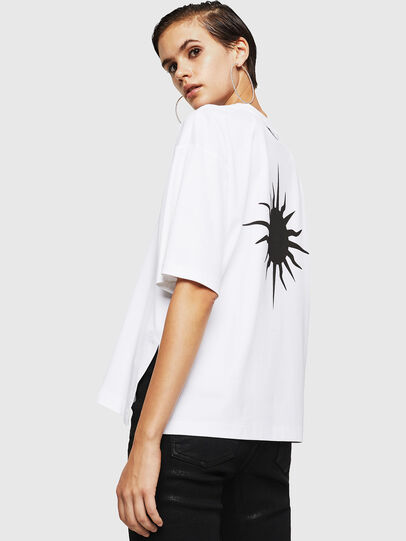 Diesel - TELIX-A, White - T-Shirts - Image 2