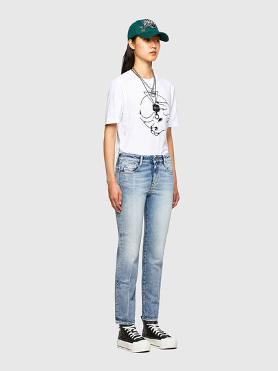 Diesel - CL-T-JUST-O, White - T-Shirts - Image 8