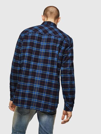Diesel - S-TOLSTOJ, Blue - Shirts - Image 2