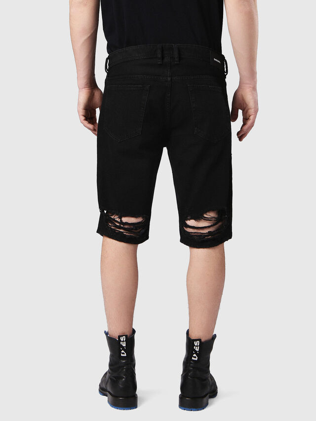 Diesel - THOSHORT, Black Jeans - Shorts - Image 2
