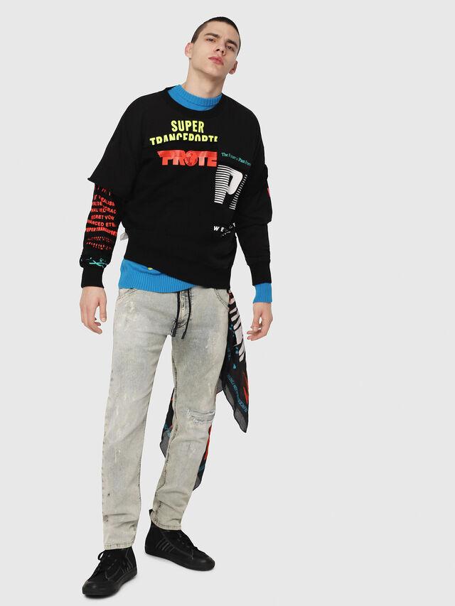 Diesel - Krooley JoggJeans 069FD, Light Blue - Jeans - Image 5